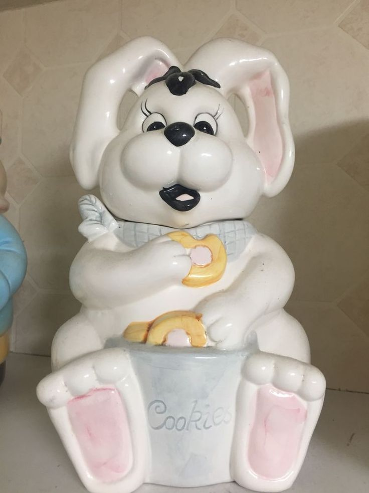 1000 Images About Bunny Cookie Jars On Pinterest Jars