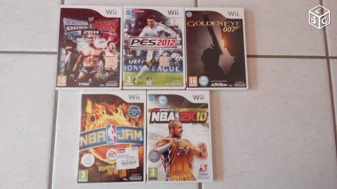 Divers jeux sport/action pour Wii Consoles & Jeux vidéo Vosges - leboncoin.fr
