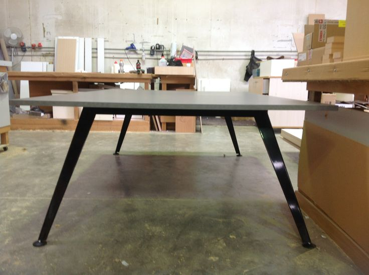 Table with Pavilion base from ISSA, thanks Rebecca!