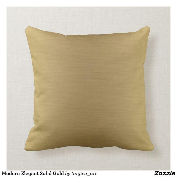 Coussin moderne élégant en or massif massif et ombre moderne …
