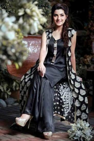 Tehzeeb Designer New Fancy Winter Wear Collection for Girls (3)