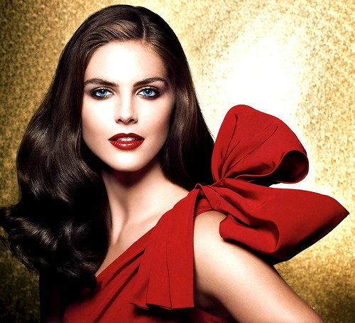 Hilary Rhoda for Estee Lauder