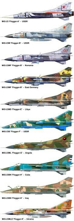 Family of Russian warbirds