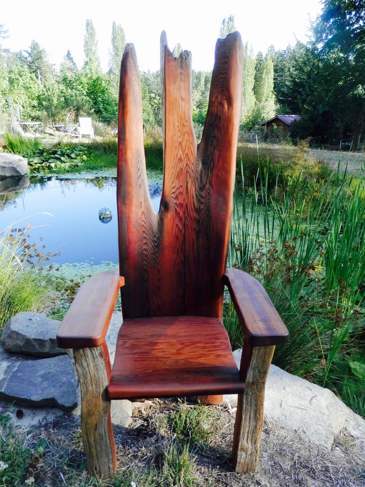 Fairy King Throne- Thuja Wood Art