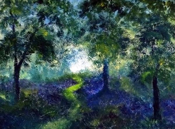 Bluebells by Hester Coetzee | Artgallery.co.uk