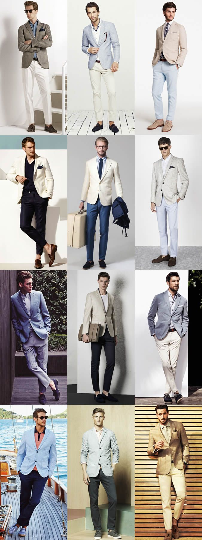 Mens jacket guide - A Guide To Summer Season Layering Http Www 295luv Com Summer Blazersummer Suitsmen