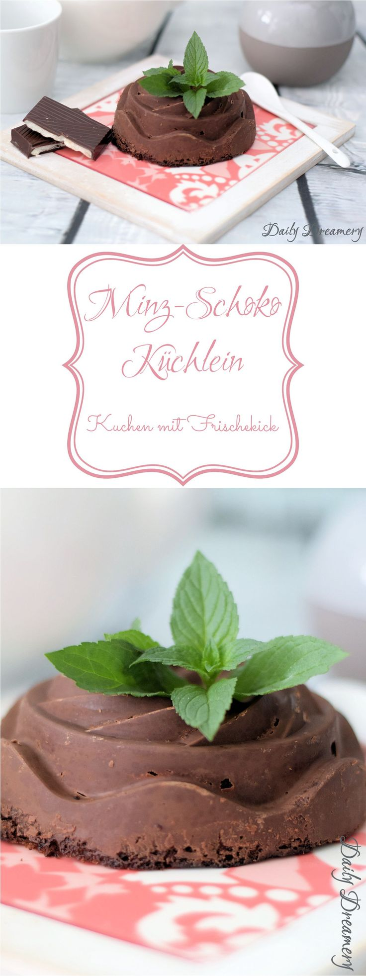 erfrischende Mint-Schoko-Küchlein, perfekt für den Sommer