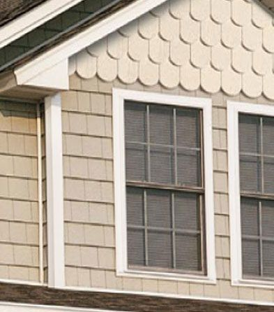 374 best images about cottage exterior on pinterest for Shaker siding