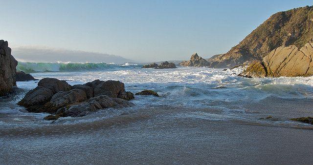 Esta pequeña playa se llama Mirasol y está más al norte de Algarrobo