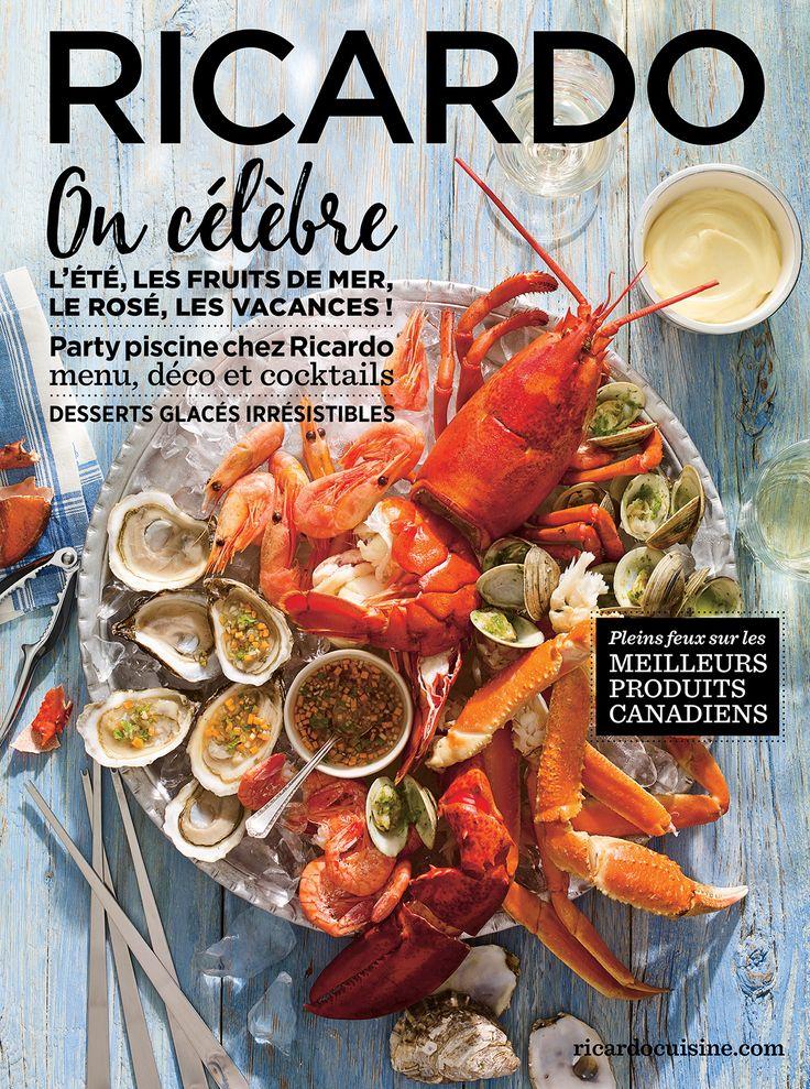 9 best couvertures magazine images on pinterest blankets for Cuisine ricardo