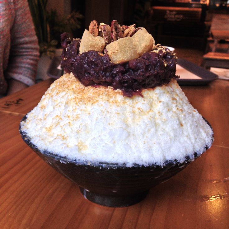 Sulbing Snow Dessert Korea