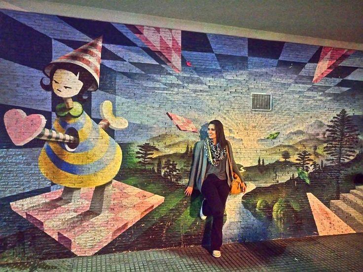 Palermo Hollywood - Buenos Aires  . Nunca deixe de observar a arte de rua. Nunca saia sem se deixar tocar.  #grafitti #artederua #aosviajantes #Argentina #BuenosAires #palermohollywood #BlogDeViagem #wanderlust #braziloverss #rbbviagem #bsas #dicasdeviagem