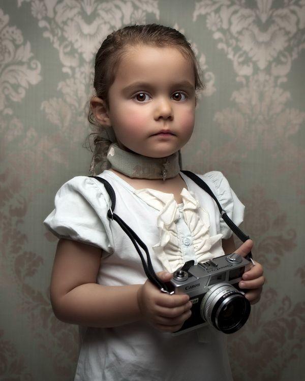 Retro Child - Child photography by Bill Gekas