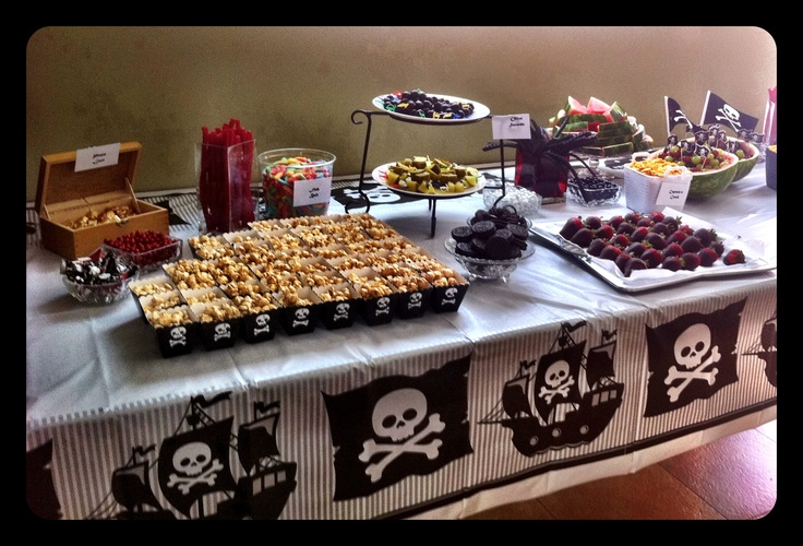 boys 6 year old pirate birthday party Pirate party Pinterest
