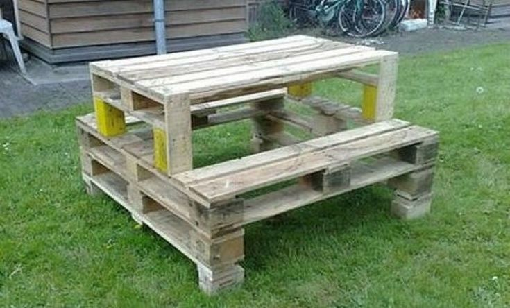 garden table out of pallets