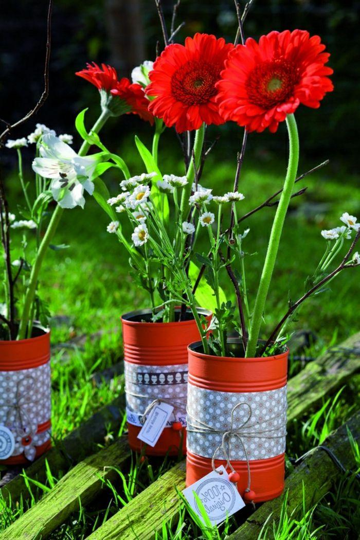 Rot Im Garten Gestalten Ideen Blumen Deko
