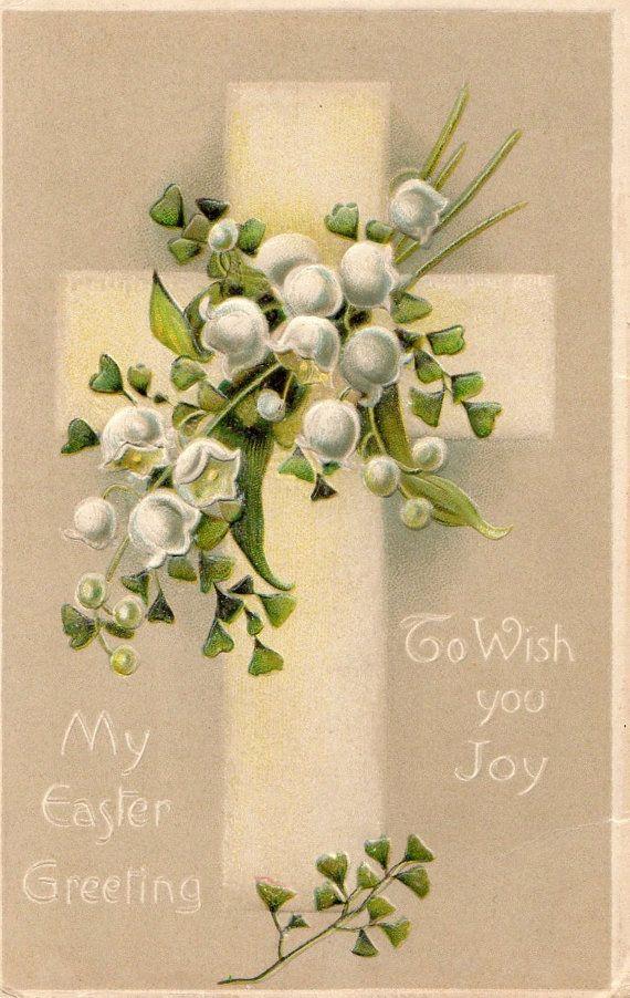 604 best Easter He Is Risen! images on Pinterest Vintage easter - easter postcard template