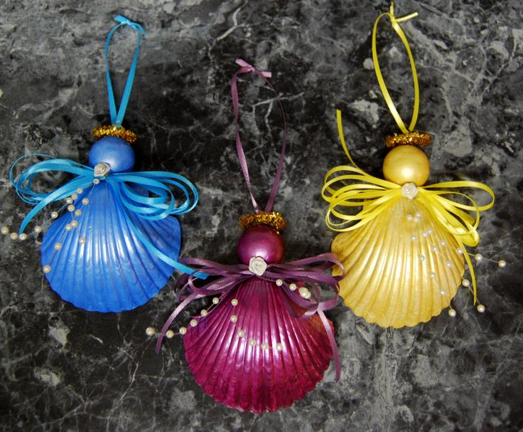 Best ideas about seashell ornaments on pinterest