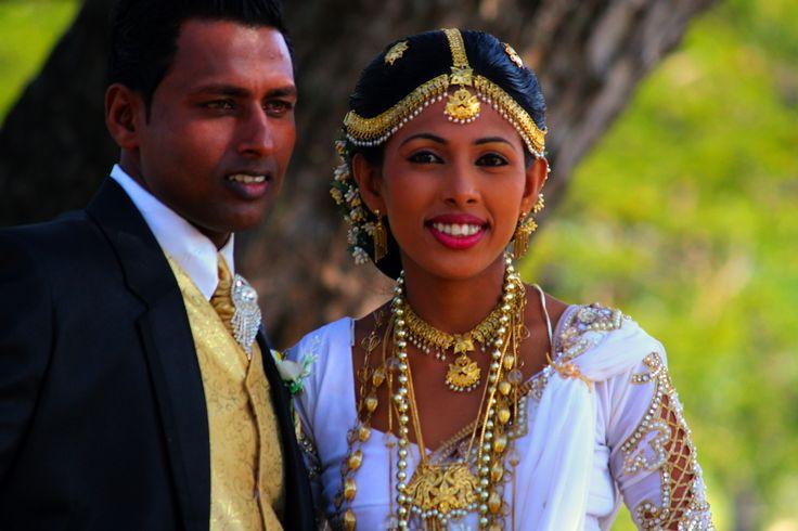 they just got married, Tissamaharama, Sri Lanka