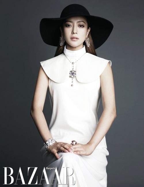Kim Hee Sun for June's Bazaar