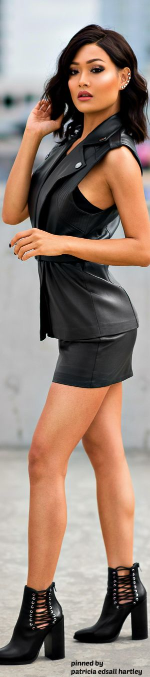 Best 25 Leather Skirt Outfits Ideas On Pinterest Black