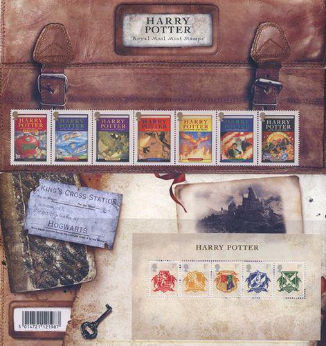 Harry Potter British Stamps.