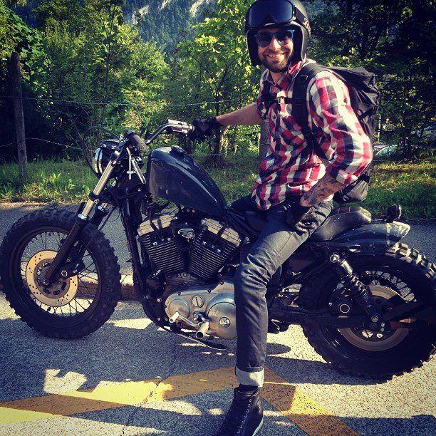 Sportster Knobby Tires Motorcycles Pinterest