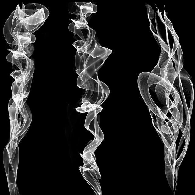 Download This Realistic Smoke Effect Set Background Abstract Design Png Clipart Image With Tra A Darker Shade Of Magic Smoke Drawing Photo Background Editor