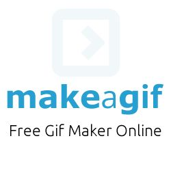MakeAGif - Online Gif Creator  Funny Animated Gifs  http://makeagif.com/ https://chrome.google.com/webstore/detail/make-a-gif/anhnbgabclnjfceopaladlmpfpgnpdjf  upload gif video to gif webcam to gif youtube to gif privacy policy