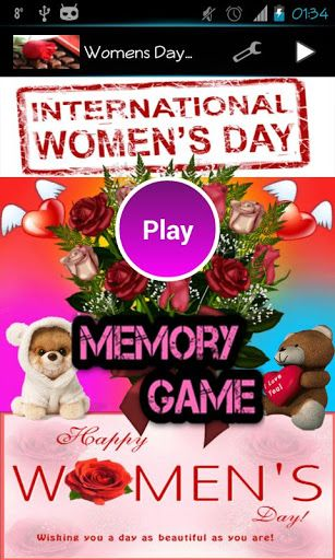 Hello<p>Happy Women's Day<p>For this occasion we have prepared cute memory game with a whopping 5 levels and wonderful music<p>Wishing you a day as beautiful as you are<p>Enjoy<p>Keywords:<br>kids games, fun games, cool games, dirt bike games, coolmath games, games for kids, scary games, word games, most fun games, educational games, hidden object games, free kids games, doraemon games, primary games, maze game, boy games, free games, multiplication games, princess games, free game, monster…