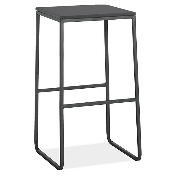 Carmel Outdoor Stools with Recycled Plastic Seat - Modern Outdoor Dining Chairs