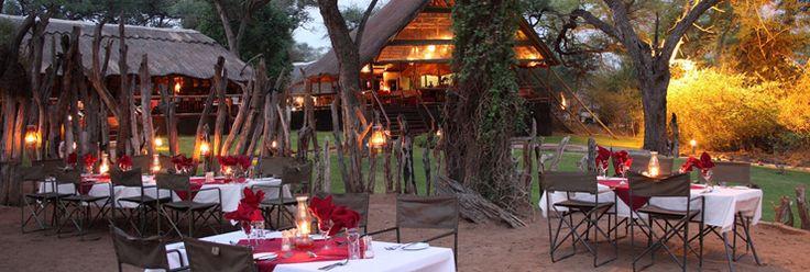 Elephant Valley Lodge, near Chobe, Botswana