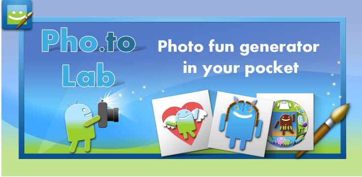 Pho.to Lab PRO Photo Editor! 2.0.300   Viernes 18 de Diciembre 2015.  Por:Yomar Gonzalez| AndroidfastApk  Pho.to Lab PRO Photo Editor! 2.0.300 Requisitos: 2.2  Android Descripción: Foto Fun Generador - crear efectos impresionantes y caricaturas de sus fotos! Pho.to Lab - con todas las funciones de fotos Fun Generador en su bolsillo! Bienvenido la versión PRO de Pho.to Lab aplicación con capacidades casi ilimitadas para crear impresionantes efectos de sus fotos! Con Pho.to Lab PRO usted puede…