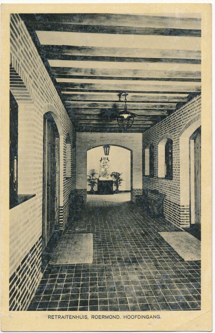 Briefkaarten Roermond_3-9-1941 Retraitenhuis Roermond Hoofdingang