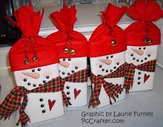 popcorn snowmen with gloves, has template for face: Christmas Crafts, Gifts Ideas, Candy Bar Wrappers, Candy Wrappers, Snowman Candy, Christmas Ideas, Neighbor Gifts, Hershey Bar, Microwave Popcorn