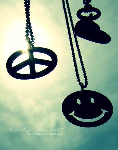Peace, love && happiness