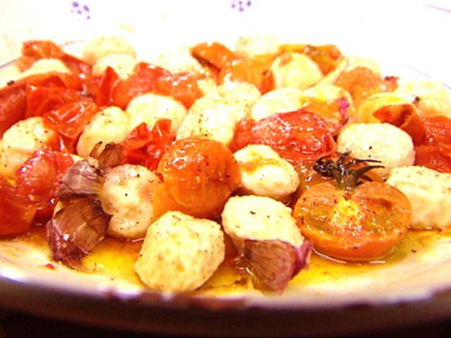 Gnudi med ugnsrostade tomater (kock Tina Nordström)