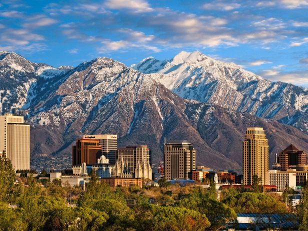 Welcome to Salt Lake City : If you're thinking that Salt Lake City is just a pit stop en route to a ski vacation, you may need to work up an appetite. This city, where the median age is 30.5, is home to thriving restaurants, bars and coffeehouses, all full of Utahan flavor. You could restrict yourself to downtown Salt Lake or head just 35 minutes east to the Wasatch Mountain Range, where restaurants cook fresh food at 11,000 feet above sea level. (Photo by Doug Pulsipher)