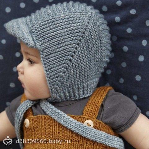 Вязаная детская шапка - идея и немного описания