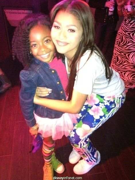 Zendaya with ski jaxson...dem adidas pants do