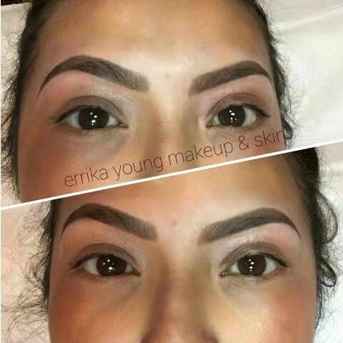 Eyebrow tint and wax