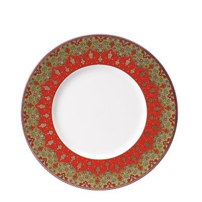 Deshoulieres Dhara Red Dinnerware Collection #williamssonoma