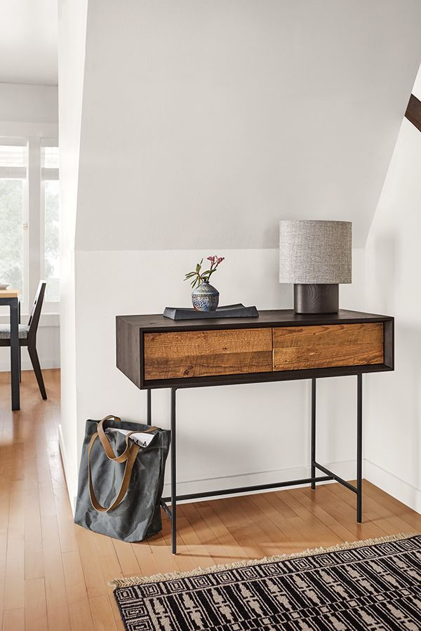 Mckean Console Tables In Reclaimed Wood