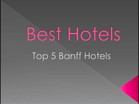 Check out the top 5 hotels in Banff, Alberta, Canada. These hotels will provide you with a memorable vacation and are some of the best hotels in Alberta. Have an enjoyable stay, and let us know what you thought of your experience at these Banff hotels!