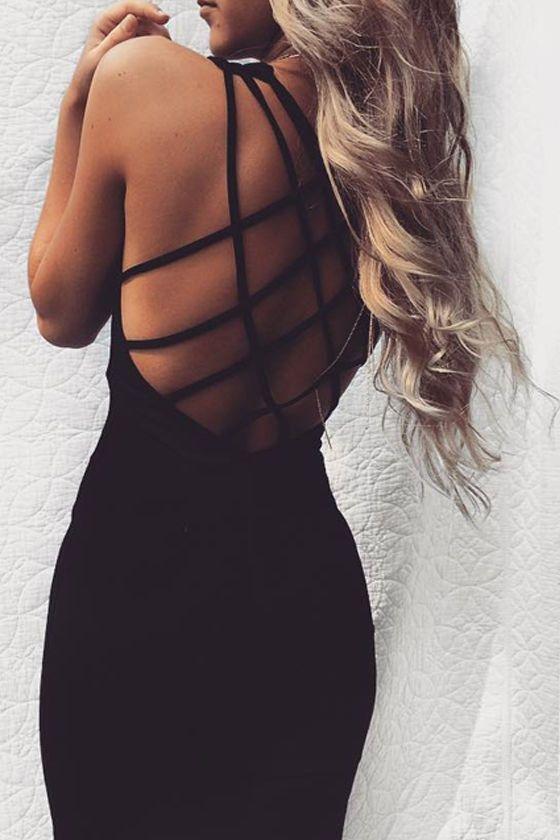 Forever Fierce Black Bodycon Dress 15