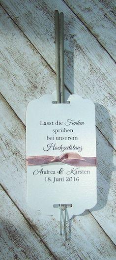 Wunderkerzen Hochzeitstanz