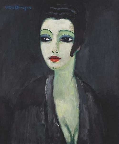 Kees van Dongen (Dutch, 1877-1968) - Tamara; the painter's muse (1913)