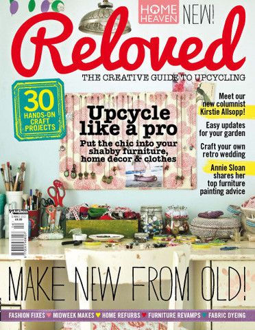 Reloved Magazine - Summer Issue  Reloved is dedicated to helping you revamp your home and lifestyle through up... $14.50 #reloved