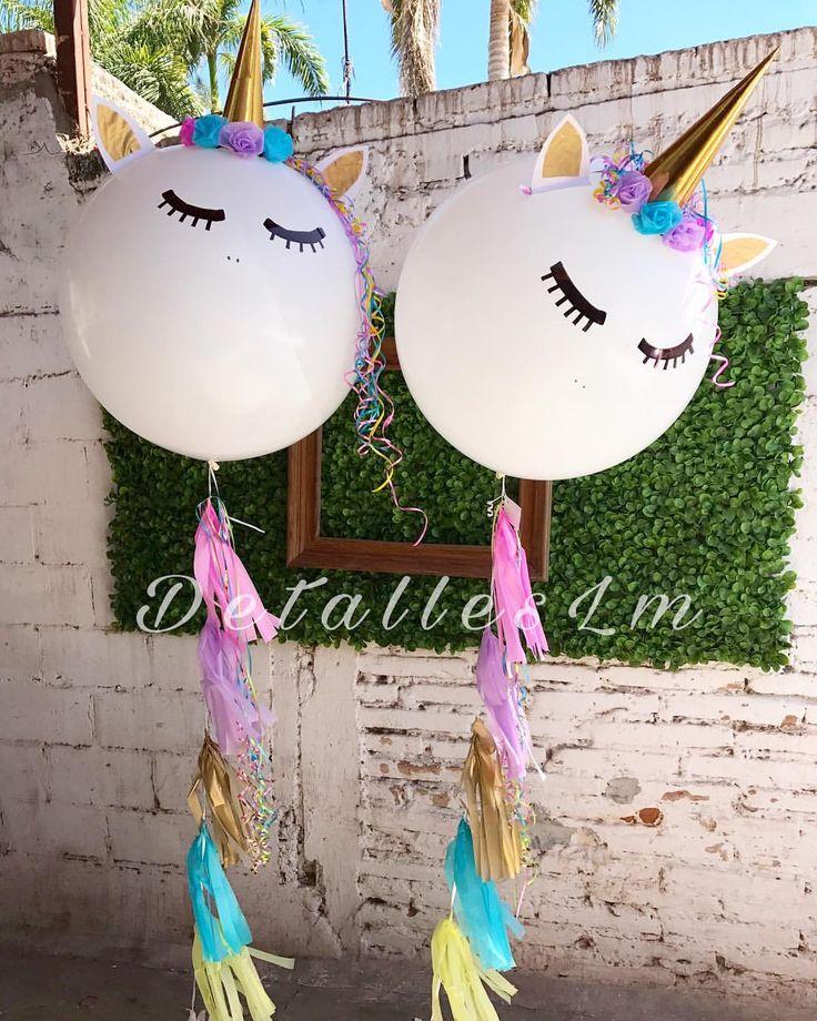 """Gefällt 157 Mal, 3 Kommentare - DETALLES LM (@detalles_lm6) auf Instagram: """"#unicorns #balloon """""""