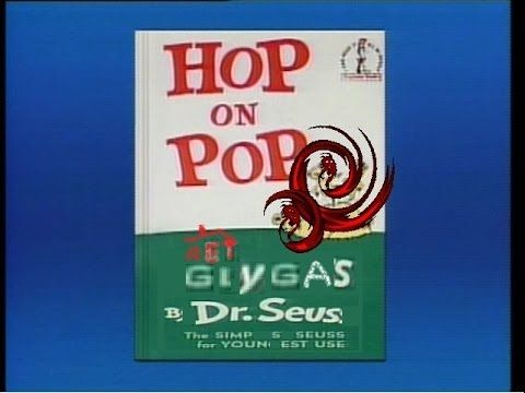 DR SEUSS BEGINNER BOOK VIDEO HOP ON POP - youtube